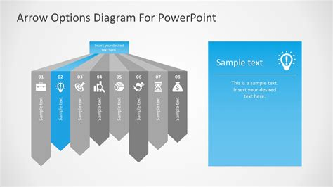 Free Arrow Options Diagram For Powerpoint Ppt Powerpoint Templates Free