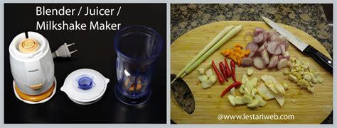 Blender Bumbu Mini kumpulan resep asli indonesia tips memilih blender