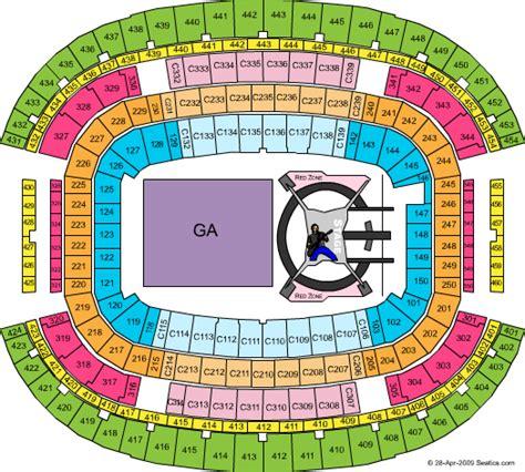 layout map español dallas cowboy stadium seating