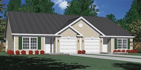 southern heritage home designs duplex plan 1261 a southern heritage home designs duplex plan 1261 b