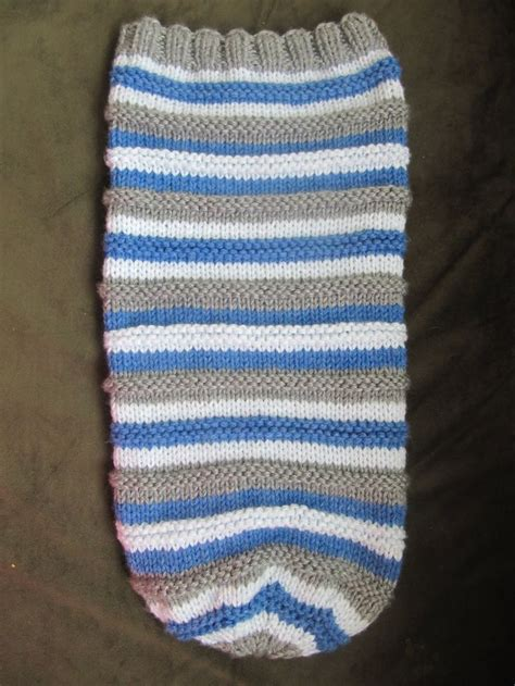 knitted baby sack baby sleep sack free pattern knitted baby cocoon hat