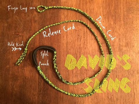 How To Make A Of David Out Of Paper - how to make a paracord quot david s sling quot