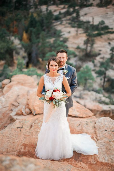 Wedding Zion National Park by Zion National Park Wedding Utah Wedding