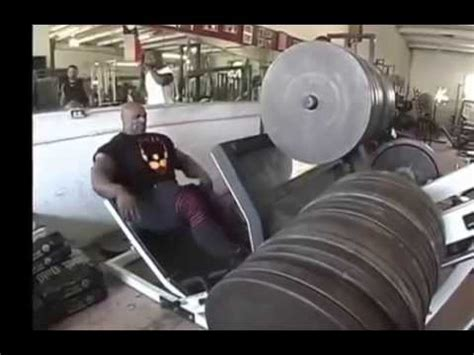 ronnie coleman bench press leg press ronnie coleman 1043 kg youtube