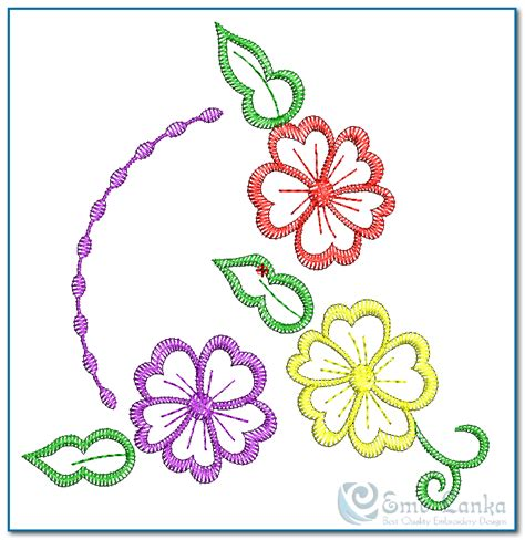 embroidery designs free embroidery digitizing flower designs free search