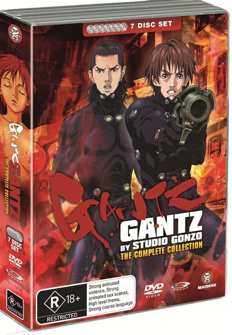 gantz complete gantz complete collection dvd in stock buy now at