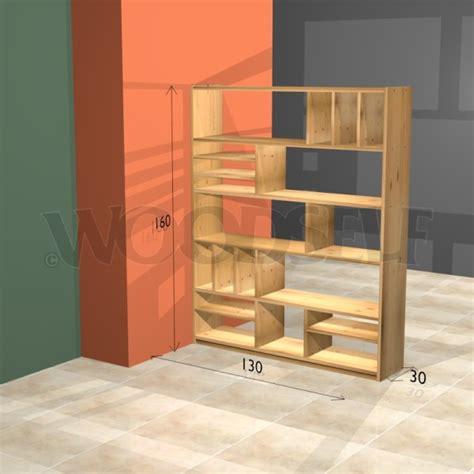 room divider bookshelf woodself  plans  woodworking