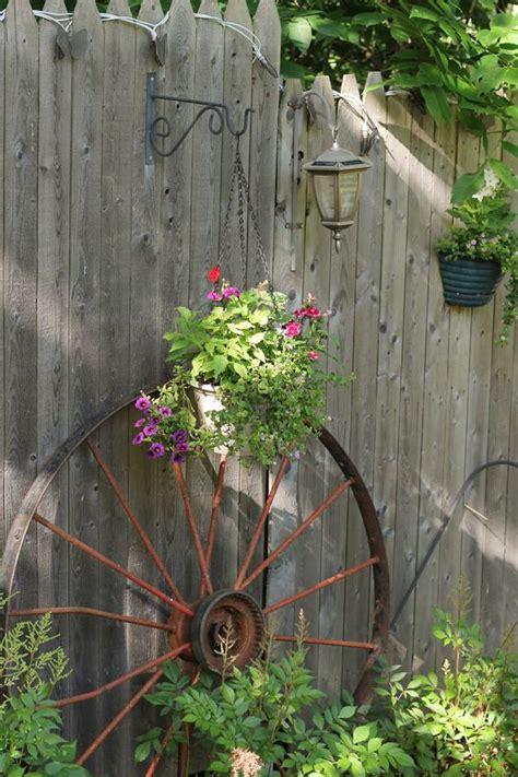 inspiring repurposing ideas  vintage garden