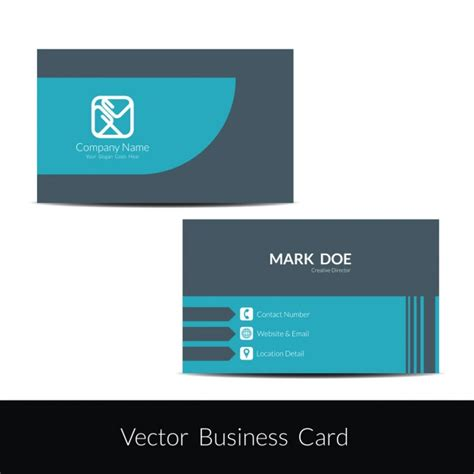 eps format visiting cards free download elegant business card template vector free download