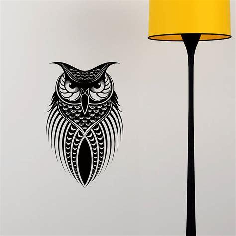 wallsticker owl speda owl wall sticker decoration by snuggledust studios