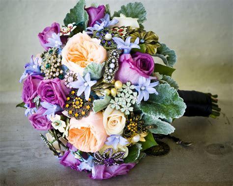 wedding bouquet jewellery jewelry inspired bridal bouquets brooch bouquet