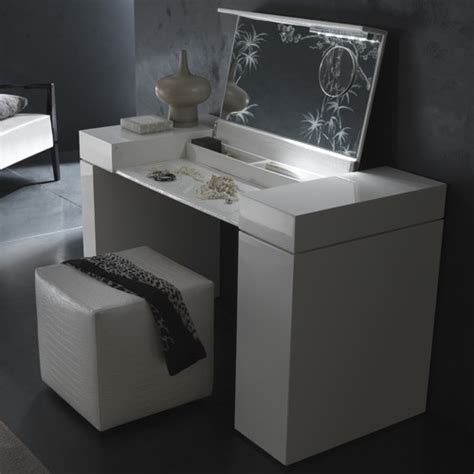 Modern Bedroom Vanity Dressing Table Rossetto Nightfly Dressing Table Modern Bedroom And