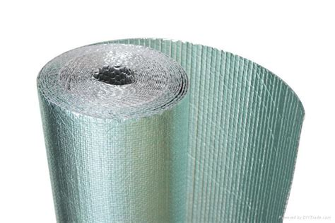 Insulasi Aluminium Foil Primary Woven Foil woven insulation with pe woven and aluminum foil ti 02 landy china