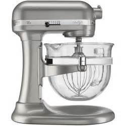 glass bowl kitchenaid stand mixer design series pro 600