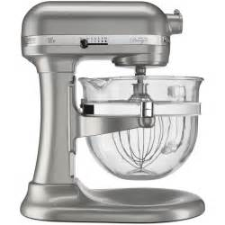 Kitchenaid 6 quart professional 600 stand mixer design series glass