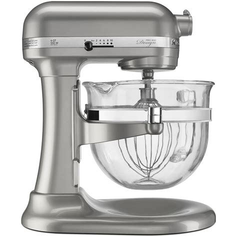 Glass Bowl KitchenAid Stand Mixer: Design Series Pro 600