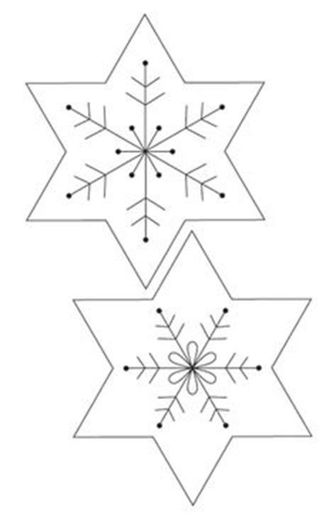 christmas decorations felt snowflake christmas garland