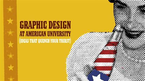 graphic design certificate washington dc art degree programs department information american