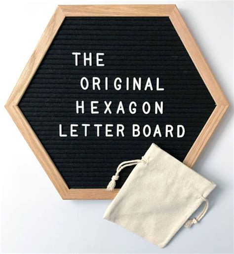 Hexagon Letter Board