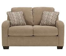 circa taupe sofa chaise the kreeli loveseat from ashley furniture homestore afhs