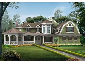 One Story House Plans With Wrap Around Porches Cannaday Country Victorian Home Plan 071d 0164 House