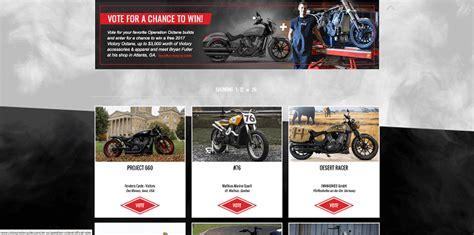 Victory Motorcycle Sweepstakes - sweepstakesmag weekly roundup october 30 november 5 2016