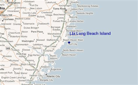 lbi map lbi island surf forecast and surf reports new