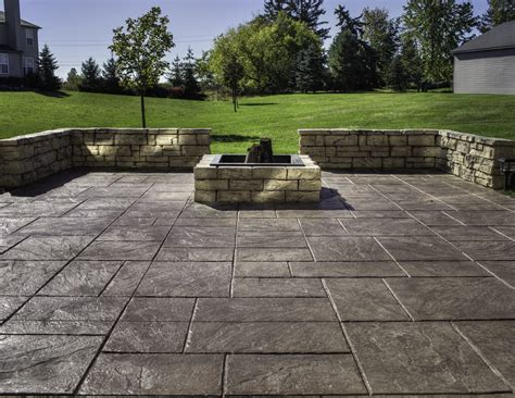Brick Paver Patio Cost Sted Concrete Vs Pavers For Brick Driveway The Wooden Houses
