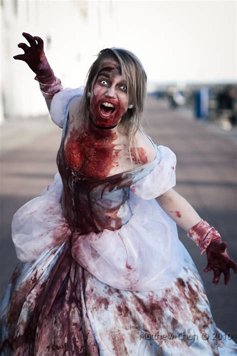 beautifully gruesome zombie disney princesses riot daily