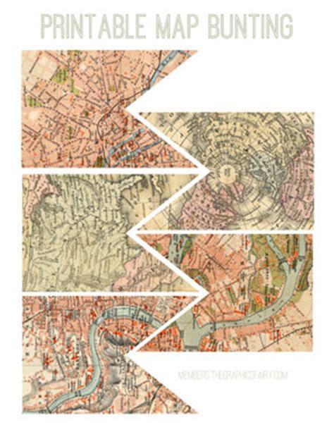 printable banner map olde world maps kit tgf premium the graphics fairy