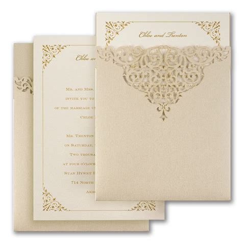 Carlson Wedding Invitations