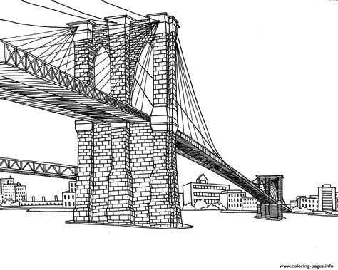 coloring page new york city coloring new york pont coloring pages