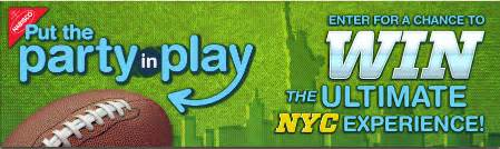 Nabisco Sweepstakes - nabisco quot put the party in play quot sweepstakes iwg win a trip to nyc more