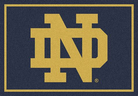 notre dame rug college rugs and college logo door mats