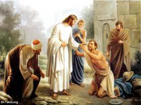 Wash Down Comforter At Home Mark 16 Jesus Healing Leprosy