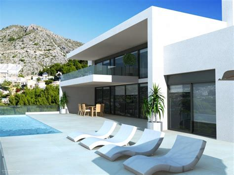 hill villa design rustic chic design villa altea hills costa blanca