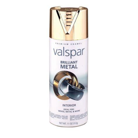 shop valspar gold metallic enamel spray paint actual net contents 11 oz at lowes