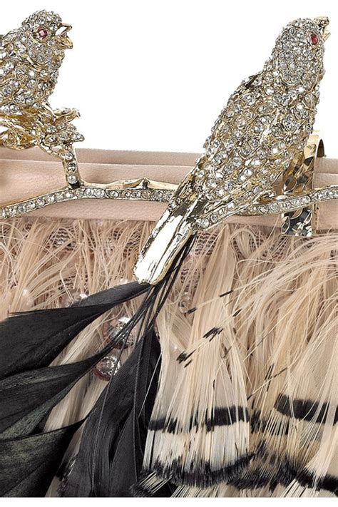 Valentino Feather Clutch by Valentino Feather Clutch