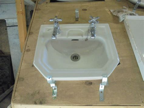 ideal standard sink a reclaimed small ideal standard sink from a bathroom