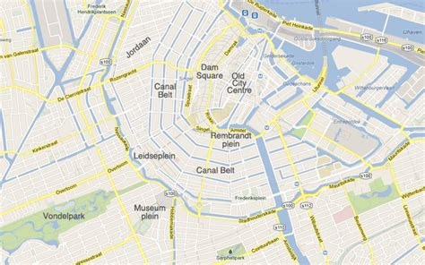 amsterdam museum district map hotels in amsterdam by location