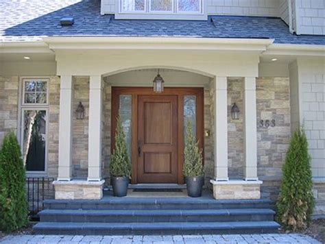 house entrance designs exterior i replace our front door add columns to the stoop and
