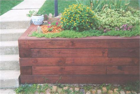 Landscape Timbers Nh Landscape Timbers Retaining Wall