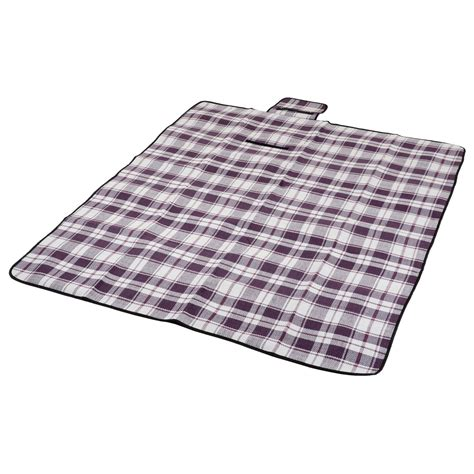 waterproof rug folding blanket cing outdoor festival waterproof backing picnic rug mat ebay