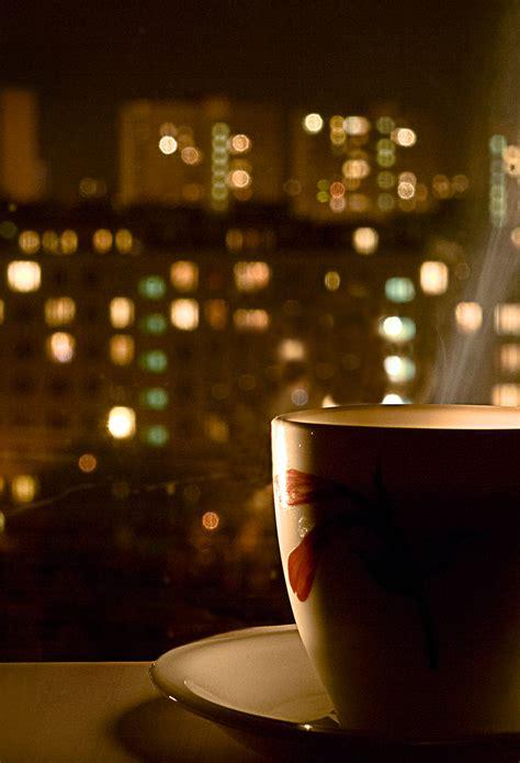 coffee night wallpaper night coffee wallpaper for iphone x 8 7 6 free