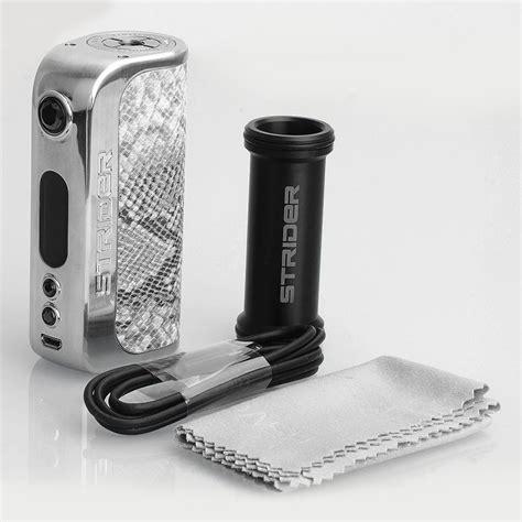 Vapevaporzo Asvape Strider Box Mod 75watt Authentic authentic asvape strider 75w vo 75 chip python tc vw box mod