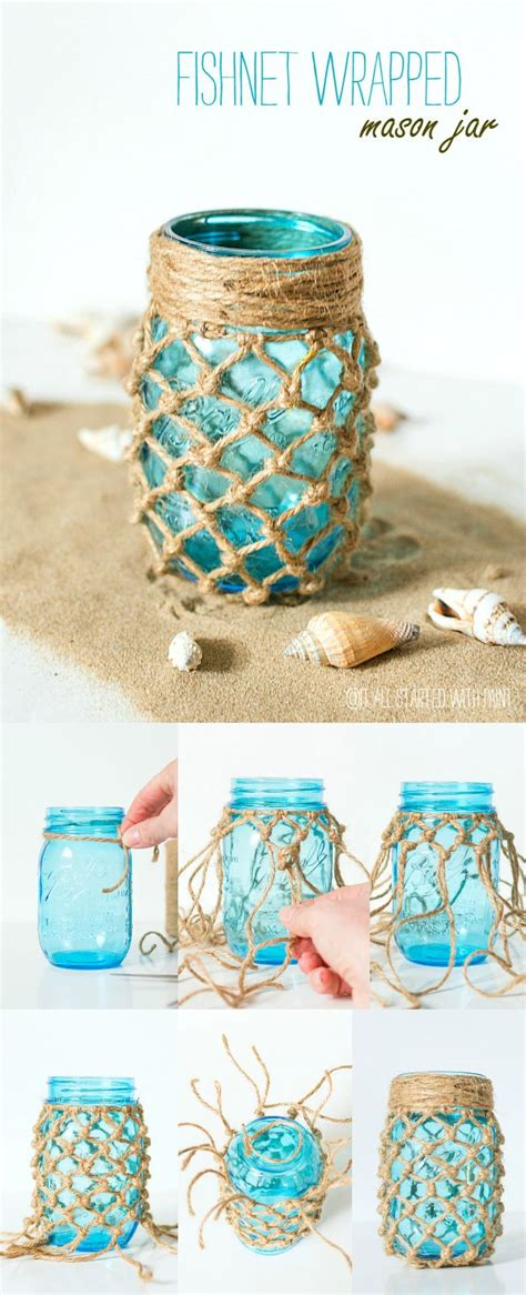 25 best ideas about beach mason jars on pinterest beach themed