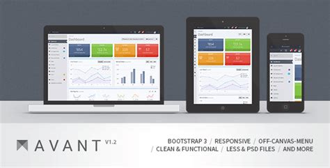 bootstrap intranet template best free and premium admin and dashboard templates