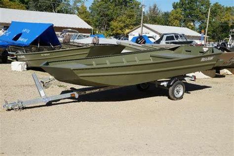 new jon boats for sale new jon seaark boats for sale in michigan united states