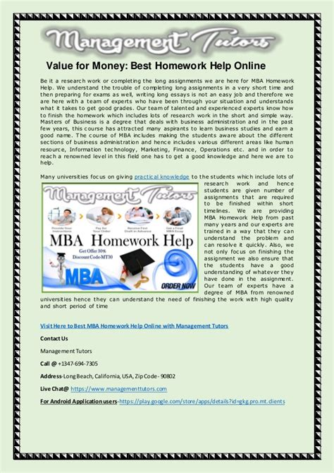 Best Value For Money Mba by Value For Money Best Homework Help