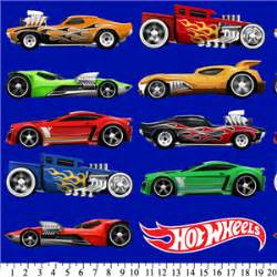 Premium Anti Pill Hot Wheels Cars Fleece A58   Sy Fabrics